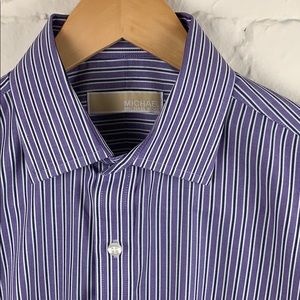 Michael Kors Dress Shirt with French Cuffs